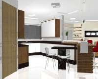Apartamento: Repaginação total com closet e banheiro individualizados para o casal